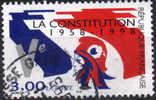 France YT N°3195 La Constitution Oblitéré - Gebraucht