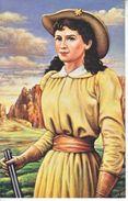 U.S. LEGENDS Of The WEST   MAXI CARD    ANNIE OAKLEY - Maximum Cards
