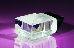 STRAHLENTEILER 21 X 21 MM  █▓   BEAMSPLITTER  HQO - TYP - Prismas