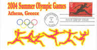 VERENIGDE STATEN VAN AMERIKA- FIRST DAY COVER- 2004, OLYMPIC SUMMER GAMES AT ATHENS. - Estate 2004: Atene - Paralympic