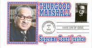 VERENIGDE STATEN VAN AMERIKA- FIRST DAY COVER- THURSGOOD MARCHALL, SUPREME COURT JUSTICE. - Non Classificati