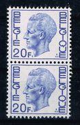 Belg. OBC 1587 ** Elström : Paar Vertikaal - 1970-1980 Elström