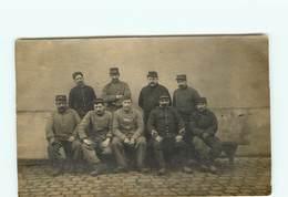 CARTE PHOTO - Militaire D´un Atelier De Réparation De Camion - Automobile - Guerre 1914/18 -EPERNAY - RENNES - Cartes Postales