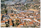 ¤¤¤  CERISAY (79) - Vue Aérienne , Le Centre De La Ville, à L'arrière Plan, L'usine Heuliez ¤¤¤ - Cerizay