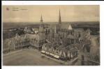 PH 1833 - VEURNE - Panorama & Stoep Van Het Stadhuis  / 2 Pk-Cp - Veurne