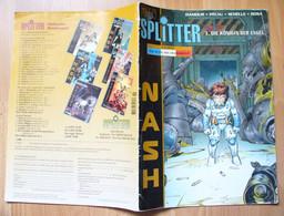 Splitter Zeitschrift - Nash Nr. 3 Die Königin Der Engel COMICS - Manga