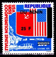 Benin ( Michel ) 589 Timbre Du Dahomey Surchargé / Coopération Spatiale - Benin – Dahomey (1960-...)