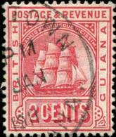 Pays : 214 (Guyane Britannique)  Yvert Et Tellier N° : 107 (o) - British Guiana (...-1966)