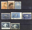 Russia , SG 195-8,198a,b;199,199a; 1921 , Definitives, Complete Set With Shade,size & Wmk Varieties , Used - 1917-1923 Republic & Soviet Republic