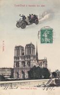 PARIS . NOTRE DAME DE PARIS.  TEUF-TEUF A TRAVERS LES AIRS - Distrito: 05