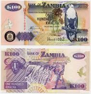 ZAMBIA -100 Kwacha X 10 PICES - 2003- Pick N° 38b-UNC - Zambia
