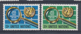 Nations Unies N° 269 & 270** Administration Postale - New York -  VN Hauptquartier