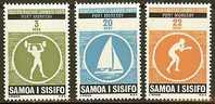 SAMOA 1969 MNH Stamp(s) South Pacific Games 201-203 #6052 - Stamps