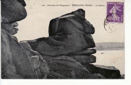 TREGASTEL-PRIMEL, Le Sphinx (rocher Typique) - Primel