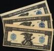 S�rie de 3 billets de jeux : 500 , 5000 & 10 000 US DOLLARS (play money) (N� 417)