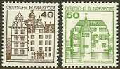 GERMANY 1980 M.N.H. Stamp(s) Castles 1037-1038 #2046 - [7] Federal Republic
