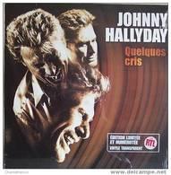 Johnny Hallyday MAXI 45 T. *quelques Cris* - 45 Rpm - Maxi-Single