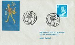 ENVELOPE CANCELLATION CONCOURS - CINÉMA - Télévision - PETITE ENFANCE - Jeune Homme 1985 - Cinema