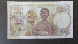 AFRIQUE OCCIDENTALE  100 F 1946 REF PICK 40 - États D'Afrique De L'Ouest