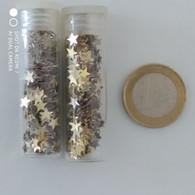 Paillettes De Maquillage LEICHNER (étoiles Dorées) New - Produits De Beauté