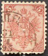 Pays :  71 (Bosnie-Herzégovine : Administration Austro-hongroise)  Yvert Et Tellier N° :    4 A A (o) - Bosnia And Herzegovina