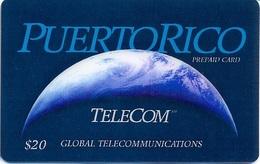 PUERTO : PRIG4 $20 (bigger Value) PUERTO-RICO Global Communi 03/97 USED - Puerto Rico