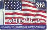 PUERTO : PRIW01 WCI $10 AMERICA Flag USED - Puerto Rico