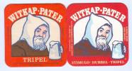 2 S/b Bière Witkap.Pater Tripel (voir Recto-verso) - Beer Mats