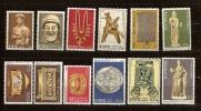 Chypre Cyprus 1976 Yvertn° 436 447 *** MNH Cote 18 Euro - Nuovi