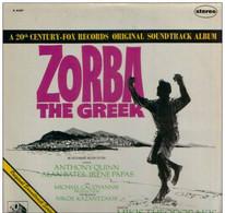 * LP * ZORBA THE GREEK (Original Soundtrack 1966) - MIKIS THEODORAKIS - Filmmuziek