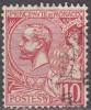 Monaco 1901 Yvert 23 O Cote (2015) 1.00 Euro Prince Albert I Cachet Rond - Usados