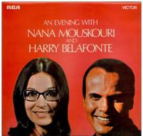 * LP * AN EVENING WITH NANA MOUSKOURI AND HARRY BELAFONTE - Verzameluitgaven