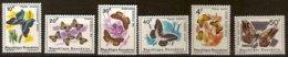 Rwanda 1965 OCBnr. 112-117 *** MNH Cote 10 € Faune  Vlinders Papillons Butterflies - 1962-69: Nuevos