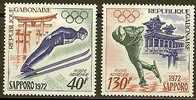 GABONAISE 1972 MNH Stamp(s) Sapporo 454-455 #6061 - Winter 1972: Sapporo