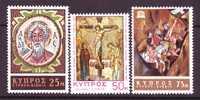 Cyprus 308-10    *  RELIGION - Cyprus (Republic)