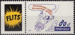 PAYS-BAS 1585 ** MNH + Vignette Willy VANDERSTEEN JEROME NEDERLAND COMIC COMICS BD BANDE DESSINEE - Fumetti