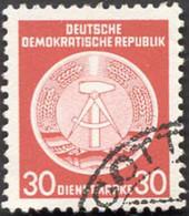 Pays :  24,6 (Allemagne Orientale) Yvert Et Tellier N°: S  11 (o) - Service