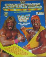 WWF World Wrestling Federation Superstars Figurine Album EUROFLASH Mancolista - Lotta (Wrestling)