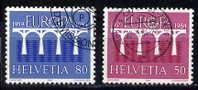 Schweiz / Switzerland / Suisse 1984 Satz/set EUROPA Used / Gestempelt - Europa-CEPT