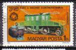 Hongrie Hungary 1975 Train Obl - Trains