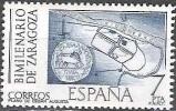 Espagne 1976 Michel 2213 Neuf ** Cote (2008) 1.20 Euro Plan Romaine De Zaragoza - 1931-Today: 2nd Rep - ... Juan Carlos I