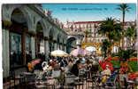 CPA - CANNES - 552 - LES GALERIES FLEURIES - R. M. - ANIMEE - Cannes