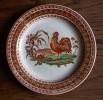 Petrus Regout HAAN - Oud Hanenbord - Old Rooster Plate -  Assiette Au Coq - Alte Hahn Teller - Se417 - Maastricht (NLD)