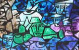 Composition Abstraite - Acryliques
