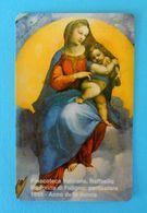 VATICAN  SCV 13 ( Mint Card ) ** Pinacoteca Vaticana - RAFFAELLO ** Religion  - Children - Enfant - Child - Enfants - Vatican