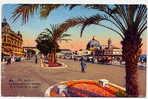CPA - EFr06-00010 - Nice : Promenade Des Anglais Et Le Palais De La Jetée. - Niza