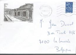 Lettre Illustrée Maubeuge - Musée (dessin De Yves Ducourtioux) Du 5/9/2006 - Marcophilie (Lettres)