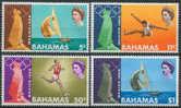 //// JO Mexico 1968 Bahamas (MNH) Yvert 265 / 268 ** Michel 281 / 284 ** - Ete 1968: Mexico