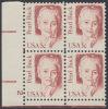 !a! USA Sc# 1848 MNH PLATEBLOCK (LL/2/a) - Great Americans: Pearl Buck - Hojas Completas
