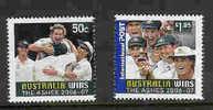 Australia-2007 Australia Wins The Ashes  Set - Mint Stamps